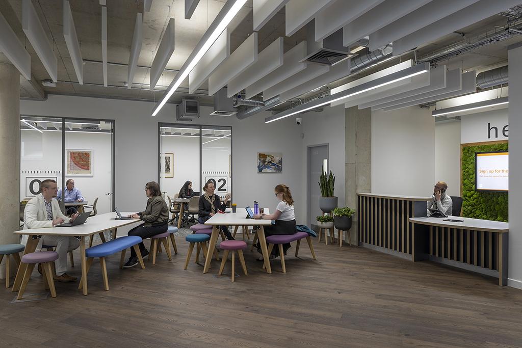 Start-up business community